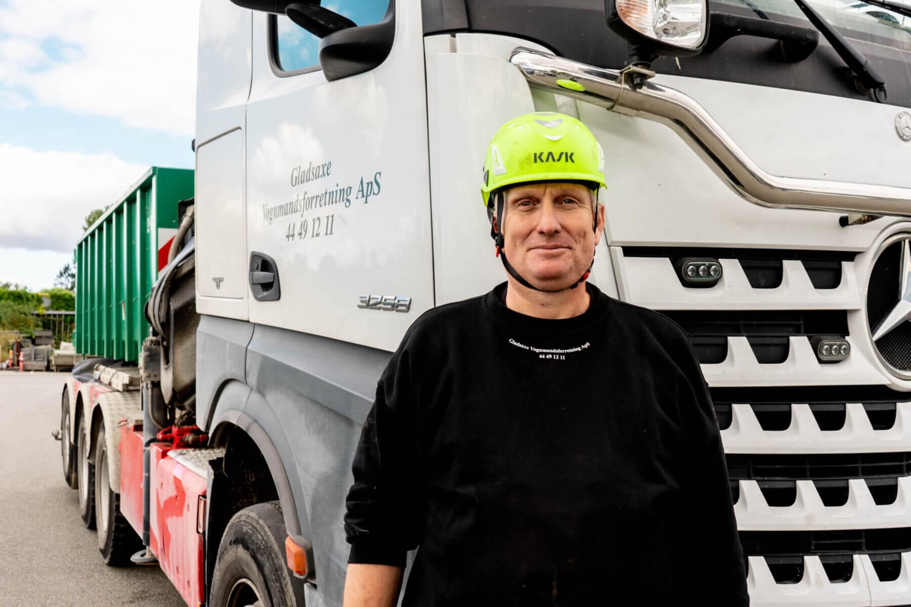 Vognmand fra Gladsaxe - bortskaffelse af jord og affald
